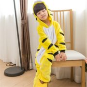 kids_yellow_tiger_onesie_pyjama_australia