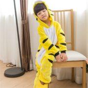kids_yellow_tiger_onesie_pyjama_australia