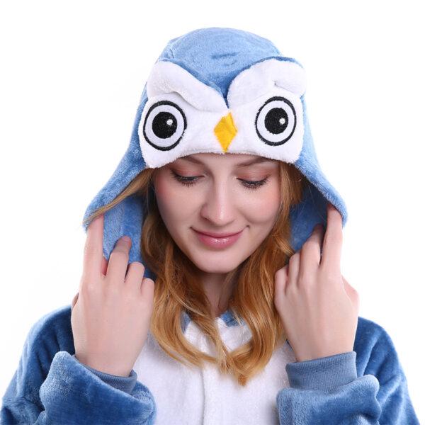 owl_adult_animal_onesie_head_australia